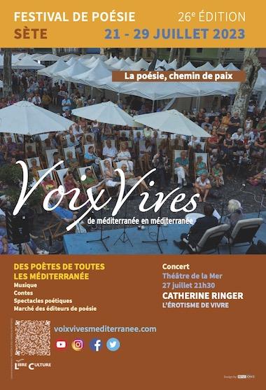 Festival Voix Vives de Méditerranée en Méditerranée